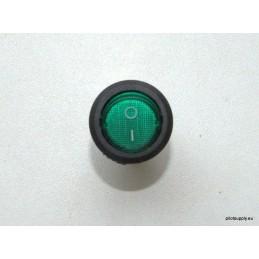 ON/OFF LED round dot toggle...